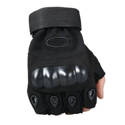 特种兵战术手套户外运动半截半指手套男骑行防滑耐磨露指训练手套