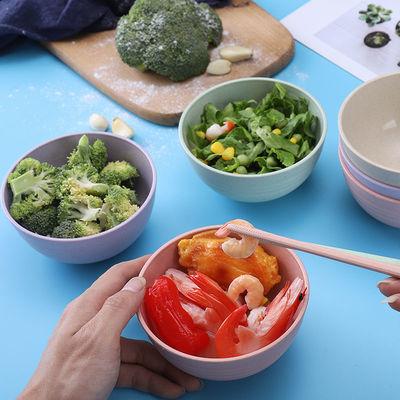防摔防烫儿童碗创意个性家用宿舍用学生单个可爱微波炉专用吃饭碗