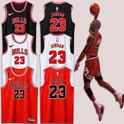 36162/公牛球衣23号篮球服套装1号罗斯比赛队服男定制篮球衣印字号
