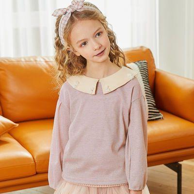 PT童装女童衬衫春款长袖2020新款纯棉中大童小女孩衬衣儿童公主