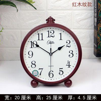 爆款康巴丝欧式座钟创意复古闹钟客厅台钟装饰钟表现代简约静音石