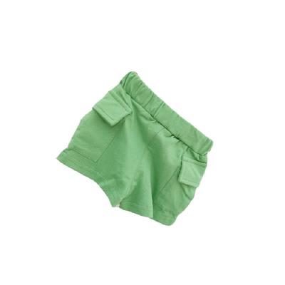 麦饼头6-12个月男宝宝短裤女0一3岁全棉薄款婴儿夏装新生儿大pp裤