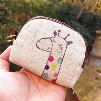 棉麻零钱包女时尚钥匙包女学生小包包短款钱包布艺零钱袋女包热卖