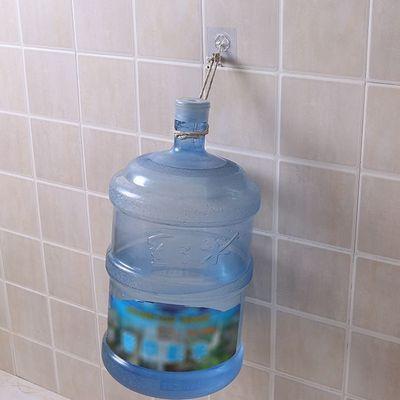 钉墙上粘钩免打孔挂钩强力粘胶壁挂式承重厨房浴室门后无痕透明免
