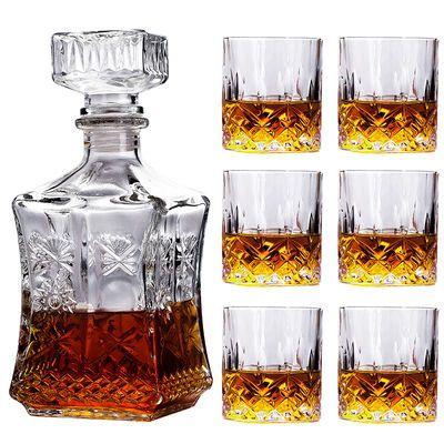 爆款威士忌玻璃酒具套装 家居软装送礼佳品酒具洋酒杯啤酒杯创意