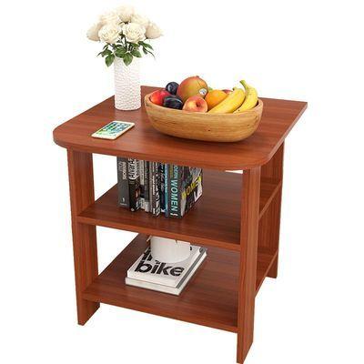 简约茶桌网红茶几客厅茶台简易家用小桌子方桌迷你卧室床头柜木桌