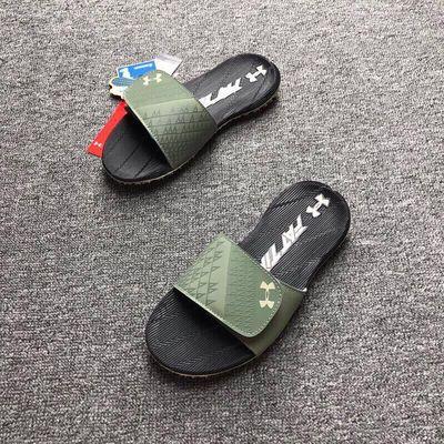 拖鞋4d记忆棉男 米其林薄荷绿魔术贴凉鞋运动防水篮球 拖鞋人字拖