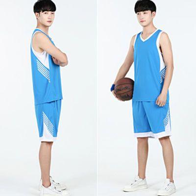 篮球服套装男学生比赛队服运动速干球衣夏季青少年健身跑步服