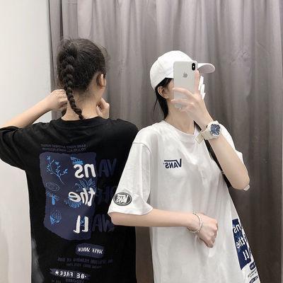 夏季万斯20ss新款短袖T恤夏威夷海岛风男女同款休闲情侣宽松上衣