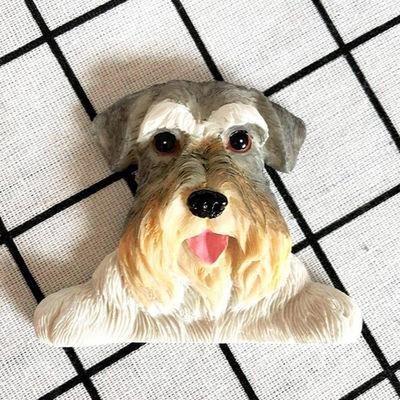 开关贴墙贴保护套法牛泰迪狗狗可爱创意开关装饰贴儿童房卧室客厅