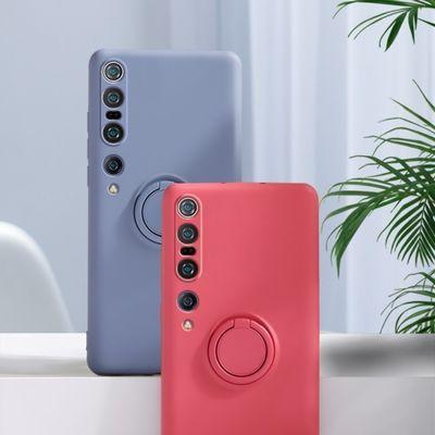 正品小米10手机壳液态硅胶10pro保护壳5g版全包防摔外壳米10超薄