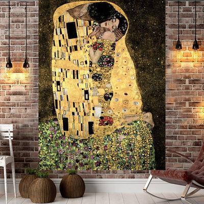 热销挂布卧室布置房间床头墙布墙面挂毯背景布网红宿舍改造玄关装