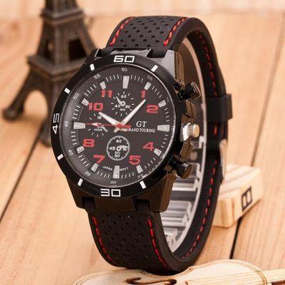 雅蝶男表时尚休闲手表 韩版学生运动手表 礼品手表多种颜色可选
