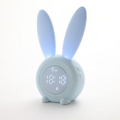 热销闹钟可充电可爱卡通懒人学生用电子计时器儿童专用夜光简约少