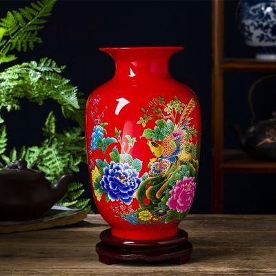 热卖陶瓷小花瓶家居客厅桌面小摆件装饰创意花器插花干花植物水培