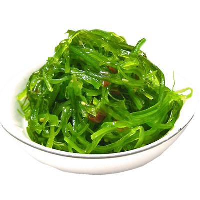 新品亏钱疯抢 大连即食裙带菜酸甜口 海藻沙拉400g 海白菜 开胃菜
