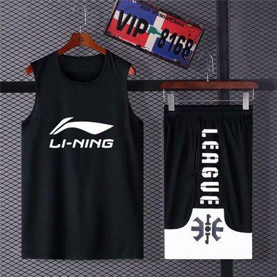 街头潮流篮球服套装男比赛训练服一战成名大学生背心定制运动服