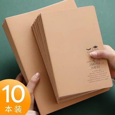 车线本笔记本子加厚初中学生韩国小清新简约b5创意a5本子横线本子