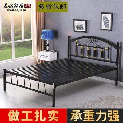 欧式铁床双人床单人床铁艺床成人1.2米1.5米1.8米铁床架公主床