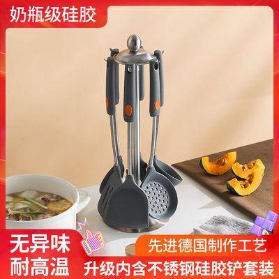 德国不粘锅专用硅胶锅铲耐高温家用炒菜铲子汤勺炒勺煎铲厨具套装