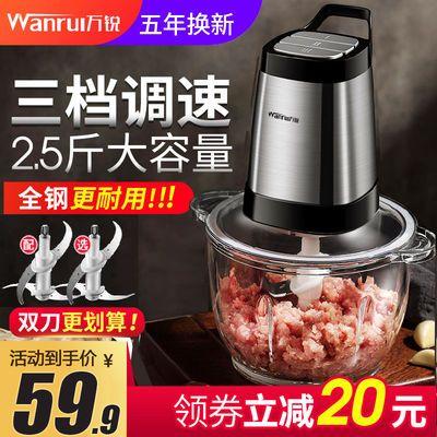 【质保五年】品牌绞肉机家用电动不锈钢碎肉搅拌机搅肉打肉绞辣椒