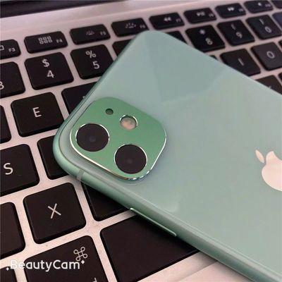 苹果11手机贴膜iPhone 11镜头膜钢化膜i11外壳金属后摄像头保护膜