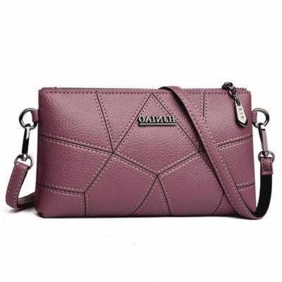 【送小包】软皮包包女式新款百搭单肩斜挎包手拿小包 2305