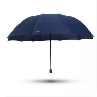 晴雨两用雨伞折叠黑正品超大号加大双人三人加固男女十骨伞