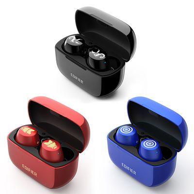 漫步者W3真无线蓝牙耳机超长续航安卓苹果隐形运动跑步耳塞无延迟