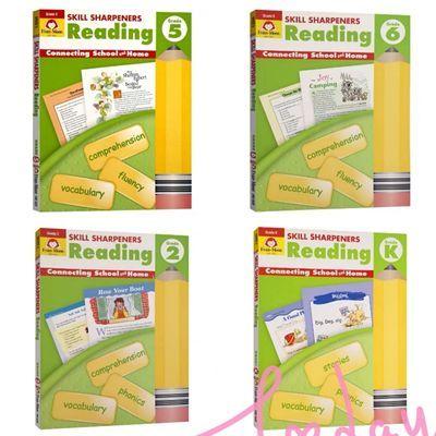 Evan-Moor Skill Sharpeners Reading 铅笔刀阅读练习册多款选