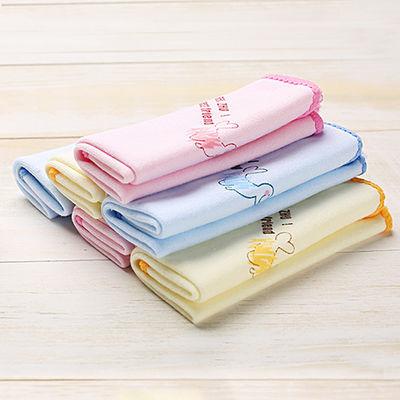 婴儿洗脸巾新生儿柔顺纯棉质口水巾宝宝擦嘴喂奶手帕小方巾