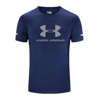 户外运动T恤男吸汗透气圆领短袖夏季跑步训练健身服半袖速干衣t恤