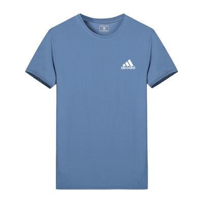 户外品质运动冰丝短袖T恤男弹力速干吸汗透气夏季跑步速干衣宽松
