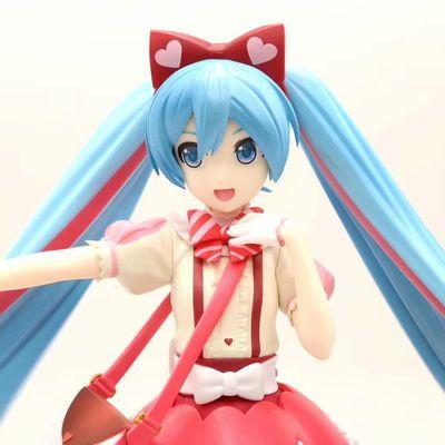 初音未来Miku礼服初音连衣裙初音站姿 手办动漫盒装 模型摆件玩具