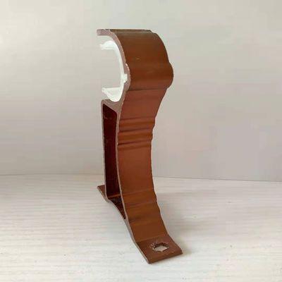 窗帘杆支架罗马杆配件铝合金配件加厚超厚托杆挂钩顶侧装单双底座