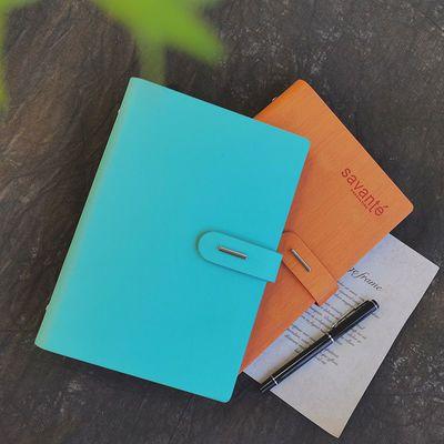 忆言商务活页本简约A5创意笔记本子加厚学习工作记录本礼品套装本