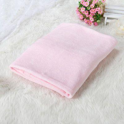 婴儿浴巾纯棉超柔吸水正方形新生儿宝宝蓝色洗澡巾毛巾被盖毯春秋