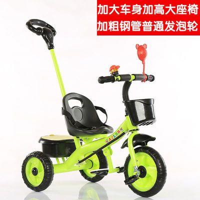 儿童三轮车脚踏车小孩1-5岁自行车男女孩子玩具简易单车宝宝车子