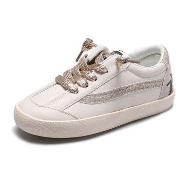 热销潮童板鞋2020春季新款儿童鞋套脚休闲鞋男女童百搭小白鞋小孩