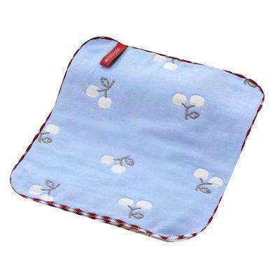 新生儿纯棉六层纱布方巾婴儿口水巾喂奶洗脸手帕幼儿园洗澡小毛巾