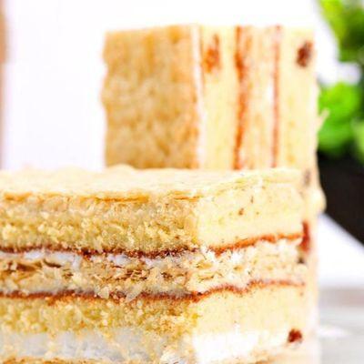 热卖【亏本疯抢】稻香村拿破仑700克早餐奶油面蛋糕整箱