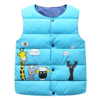 【八零八一】秋冬儿童马甲棉服童装男女童宝宝中小童棉坎肩背心