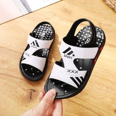 2020新款夏季儿童凉鞋软底男女童沙滩鞋中小宝宝防滑学步鞋