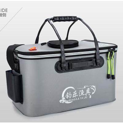 鱼桶钓鱼水桶装鱼桶 活鱼箱折叠鱼桶EVA水桶鱼护桶鱼箱钓箱钓鱼桶