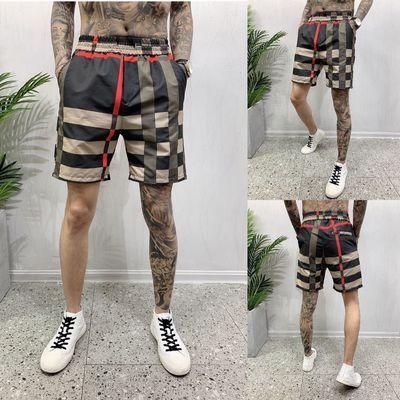 夏季休闲百搭五分裤社会小伙显瘦洋气沙滩裤网红ins休闲大码短裤