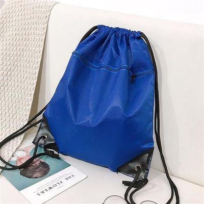 防水束口袋抽绳双肩包男女户外大容量收纳旅游旅行包跑步运动包