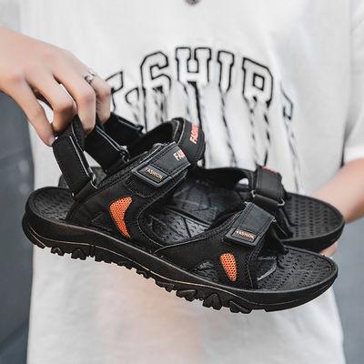 特大码凉鞋男夏季韩版沙滩鞋软底潮流防滑休闲运动外穿两用凉拖鞋