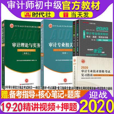 2020年初级中级审计师官方考试教材2020年考点真题初级中级指南全