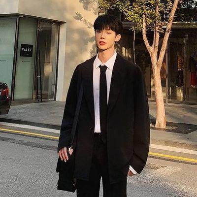 【套装男】韩版商务职业西服套装修身伴郎新郎结婚正装学生班服小