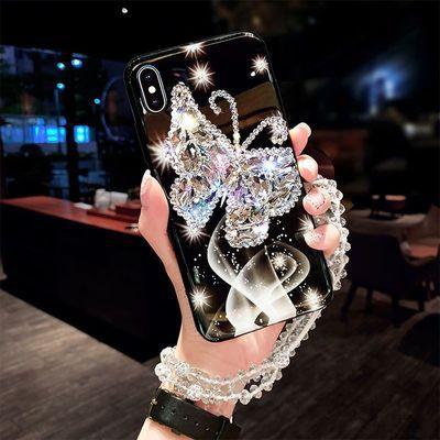 OPPOReno2/3手机壳A92S镶钻a9x防摔r15/r17全包a11s/k5/k3女